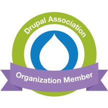 Drupal Association Organization Member badge