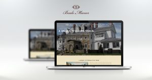 beale manor website displayed on laptop, tablet, and phone