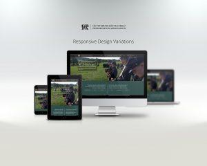 gettysburg battlefield preservation association website displayed on laptop, tablet, and phone